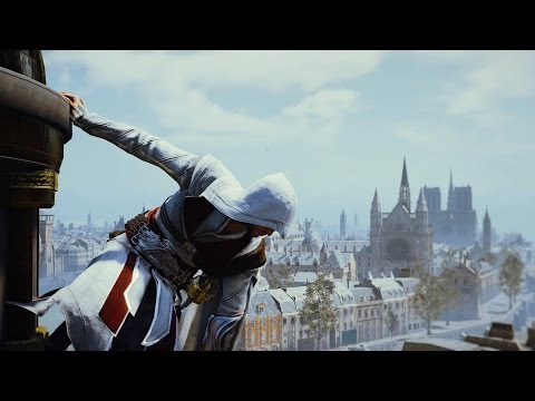 Assassin's Creed Unity Ezio Auditore Venice Rooftops Parkour Montage