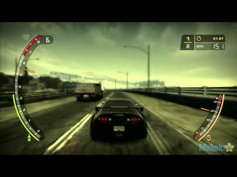 Need for Speed Most Wanted: Baron Blacklist Drag Race 2