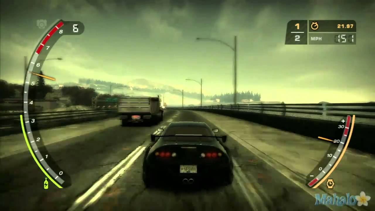 Need For Speed Most Wanted Baron Blacklist Drag Race 2 Youtube