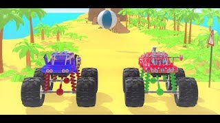 Car Learn Colors Red Blue Drivering For Children With - Go Kids TV