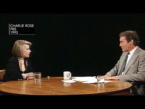 Joan Rivers talks frankly about life and career on Charlie Rose's show