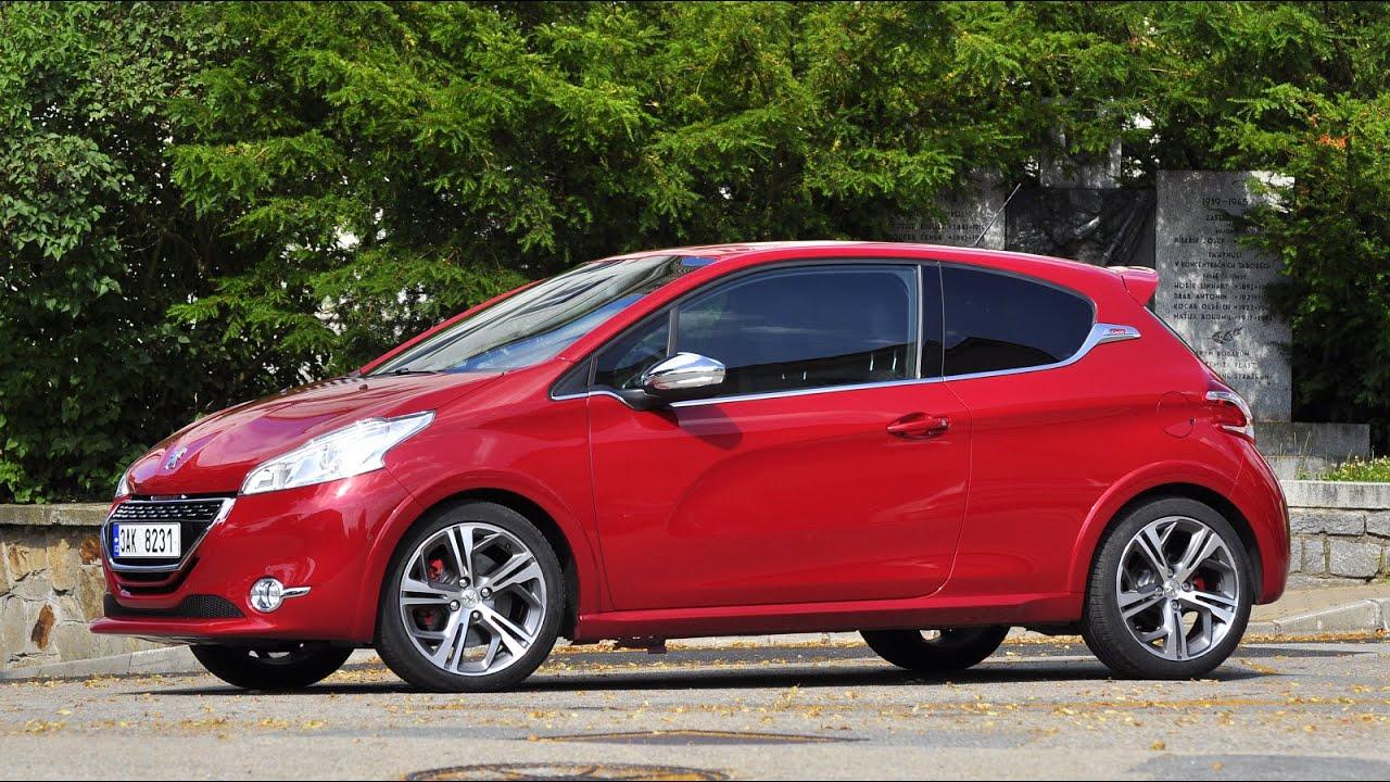 Peugeot 208 GTi 2014 - test driving moments