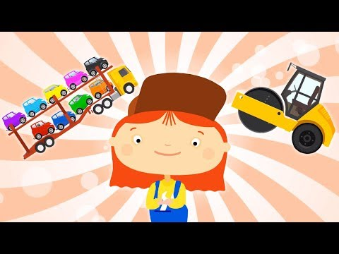 CAR DOCTOR! Kid's Cartoon about cars. Cartoons collection. Part 6. Doctor Mac Wheelie