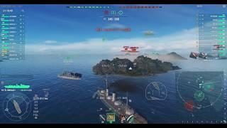 [WOWS] ロシア戦艦ニコライ一世 7KILL クラーケン来襲 大口径 共謀者 勝...
