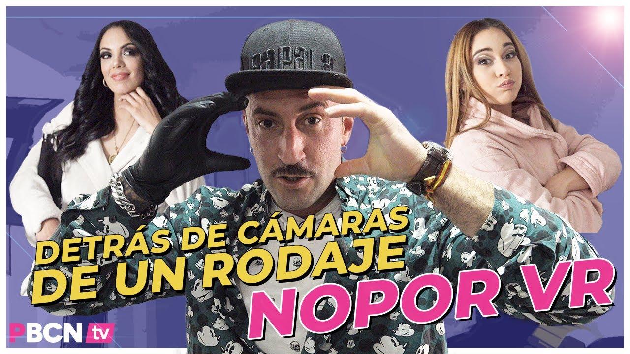 En un rodaje NOPOR de realidad VIRTUAL VR 🤯   Detrás de cámaras   EMILIO ARDANA 💪