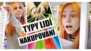 Typy lidí při nakupování | NATYLA