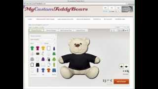 Personalized Teddy Bears - Make Your OWN Personalized Teddy Bears!