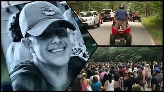 Hundreds gather to remember Scituate teen killed in dirt bike accident