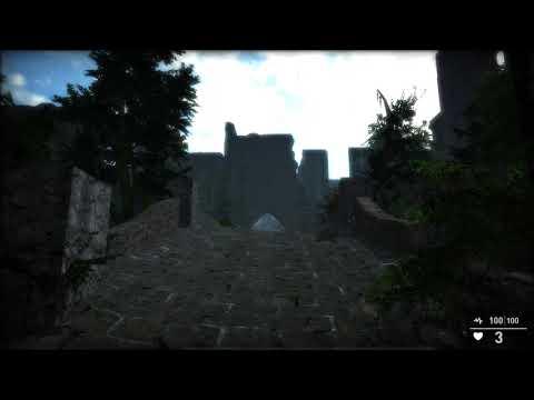 GameGuru Garden [4K] - [Level Development] Game Engine |