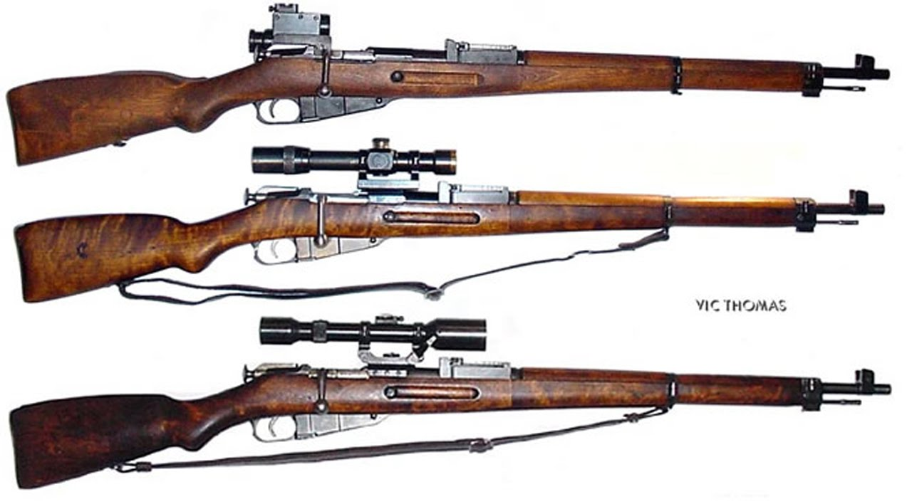 Mosin-Nagant 3 Line Rifle - Weapons of Victory - YouTube