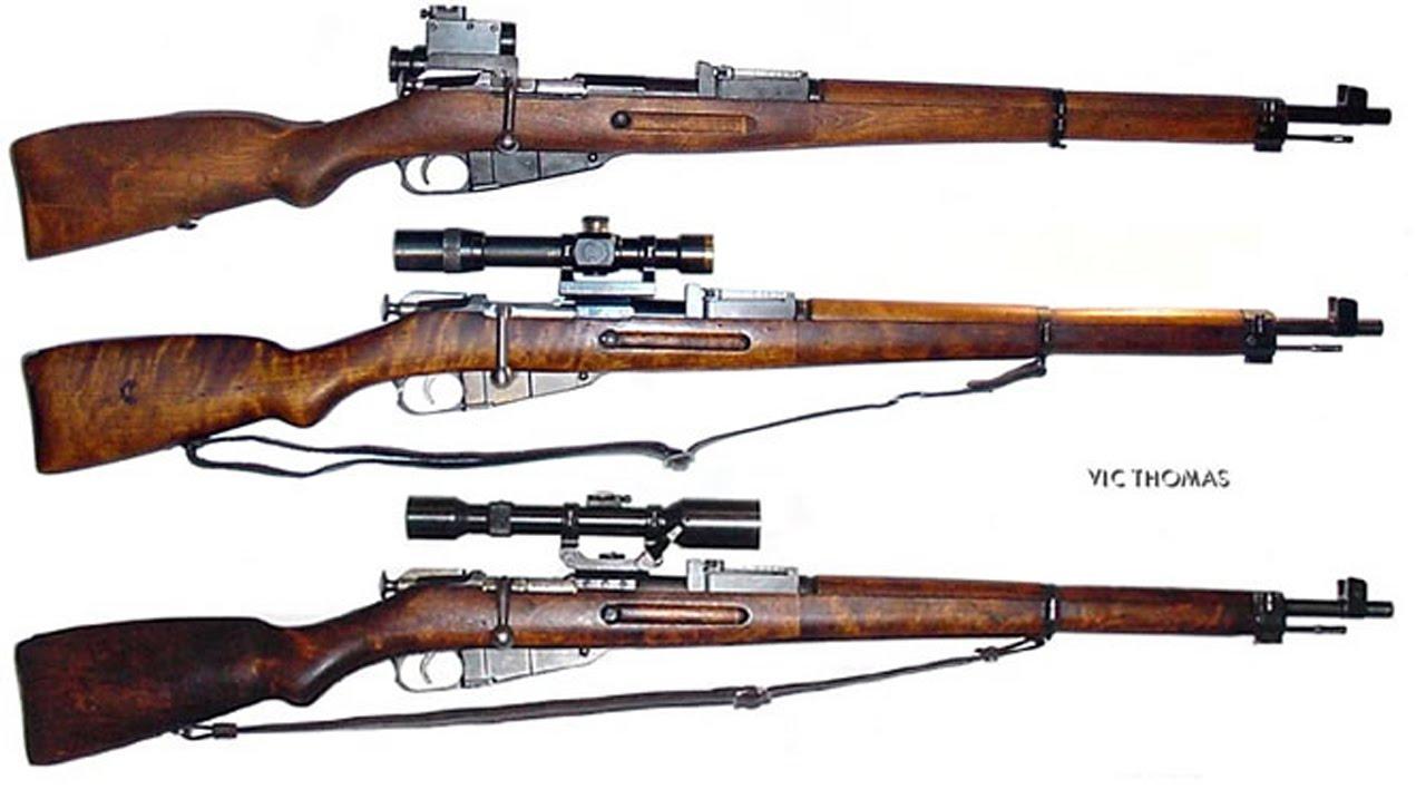 M1 Garand Ww1 Mosin-Nagant 3 Line Ri...