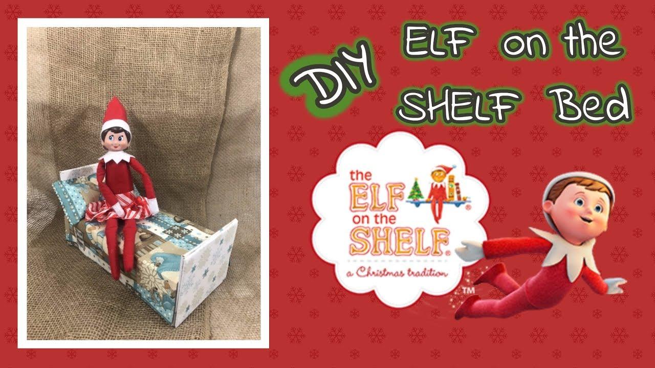 diy elf on the shelf bed using dollar tree items