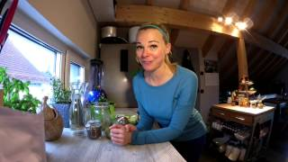 Grüner Smoothie - Zuckerbombe oder gesund?! Tag 6 FdF
