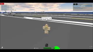 Act of valor Plane takeoff (Roblox Version)