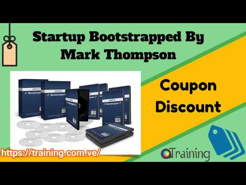 Startup Bootstrapped By Mark Thompson Download
