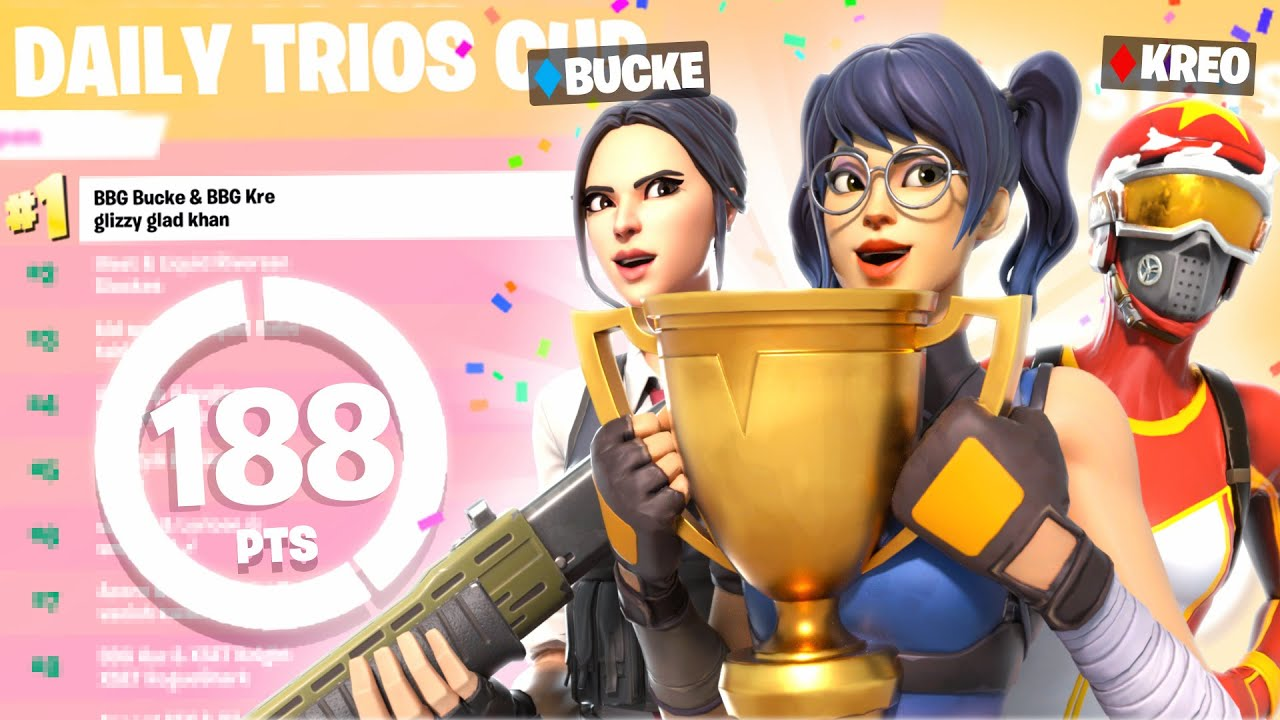 Download HOW WE PLACED 1ST in TRIO CUP 🥇 ($1,200) W/ Bucke & Kreo