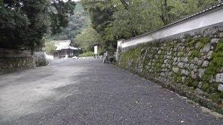 滋賀県大津市 三井寺(園城寺)とその周辺の町並み Miidera(temple) in Otsu, Shiga Prefecture