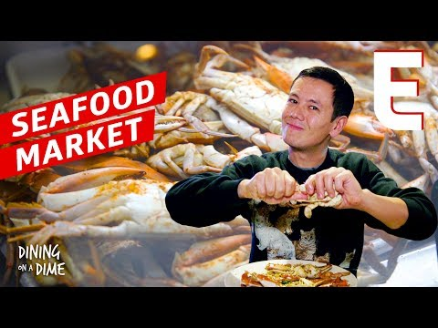 Whole Crabs and Oysters Rockefeller At One of Philly's Oldest  Seafood Markets – Dining on a Dime
