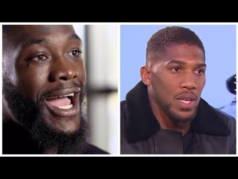 """""""ANTHONY JOSHUA WILL REGRET TURNING DOWN THE $50 MILLION OFFER I SENT HIM"""" ~ DEONTAY WILDER!"""