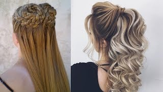 Hairstyles For Long Hair & Hairstyles Tutorials Compilation(part-5)