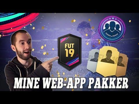 Mine FIFA 19 Web-App Pakker!