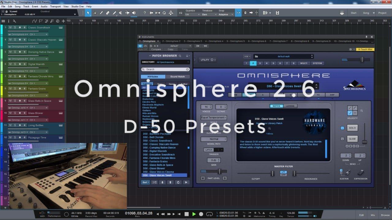 Omnisphere 2 6 - D-50 Presets