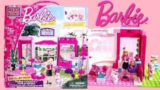 Barbie Build 'n Style Pet Shop Megabloks Animalarie Tienda de Animales Barbie Doll Barbie Megablocks