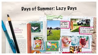 Journal Process Video: Junk Journal With Me: TheReBookery: Days of Summer
