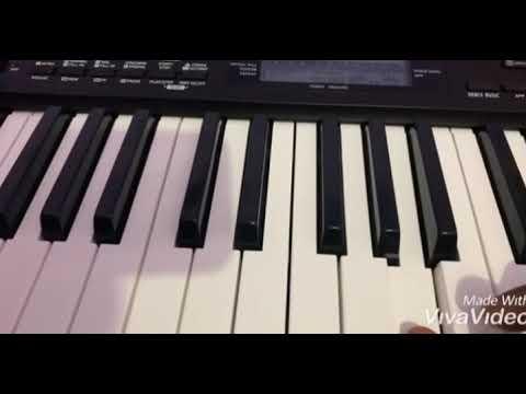 Chaand Ne Kaho Aje Piano Instrumental