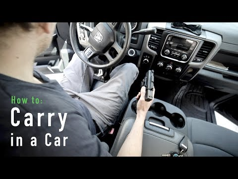 How To Concealed Carry In A Car - Alien Gear Holsters