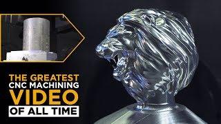 Machining TITAN'S Titanium Lion