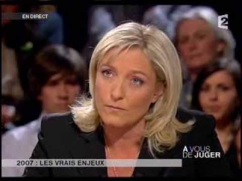 A vous de juger, Grand débat avec Marine Le Pen, François Fillon, François Bayrou, Jack Lang ...