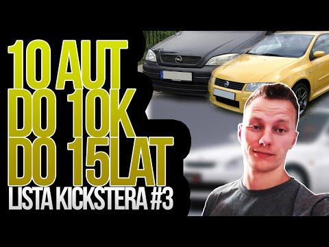 'Co na pierwszą furę?' - 10 aut do 10k do 15 lat - Lista Kickstera #3