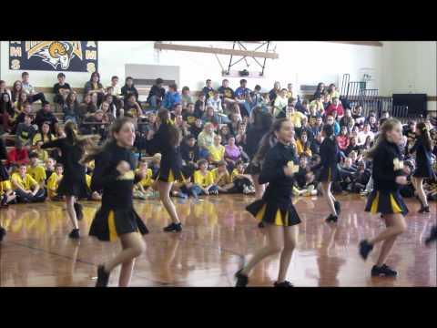 Merrick Avenue Middle School Kickline Pep Rally