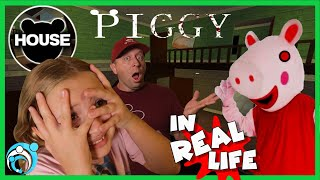 Roblox PIGGY In Real Life - Chapter 1: House New Ending |Thumbs Up Family