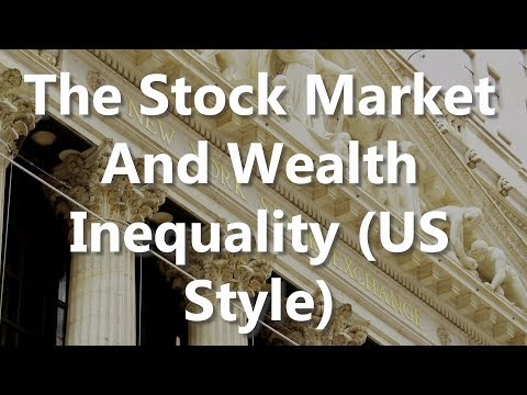 The Stock Market And Wealth Inequality (US Style)