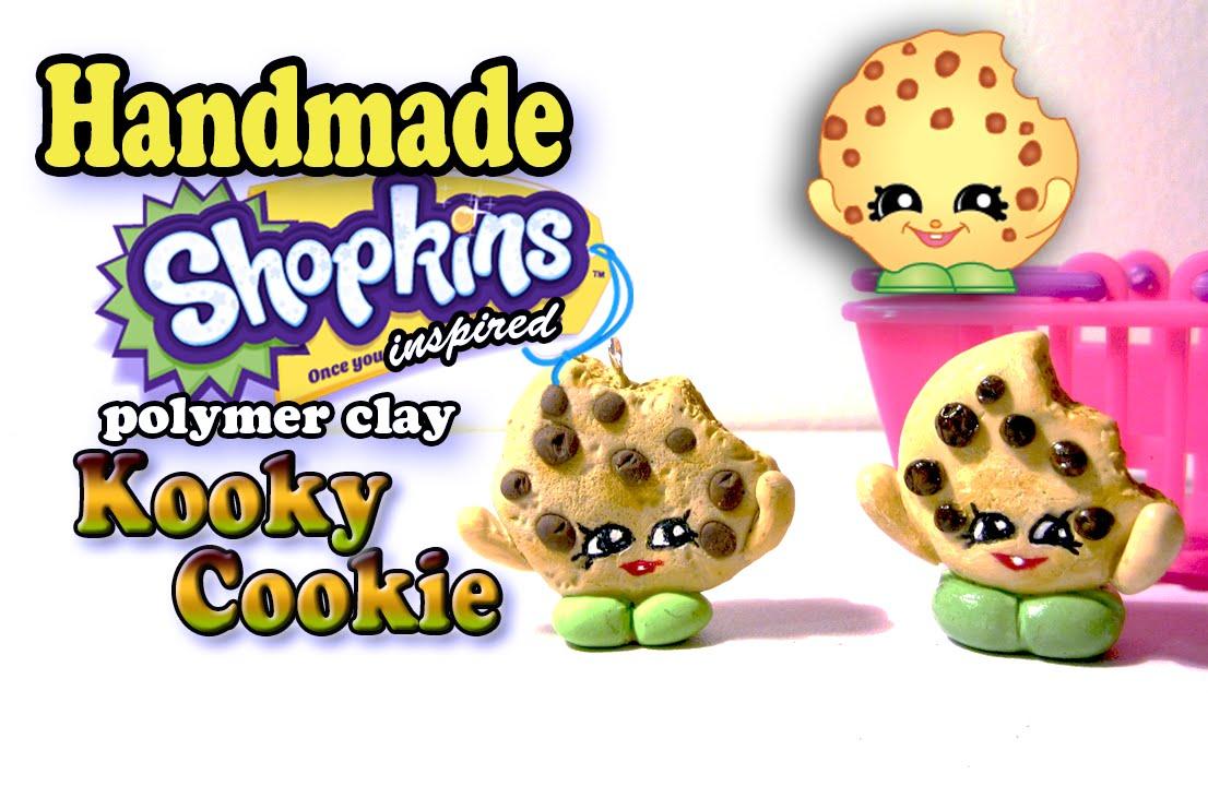 Season 1 Shopkins How To Make Kooky Cookie Polymer Clay Tutorial