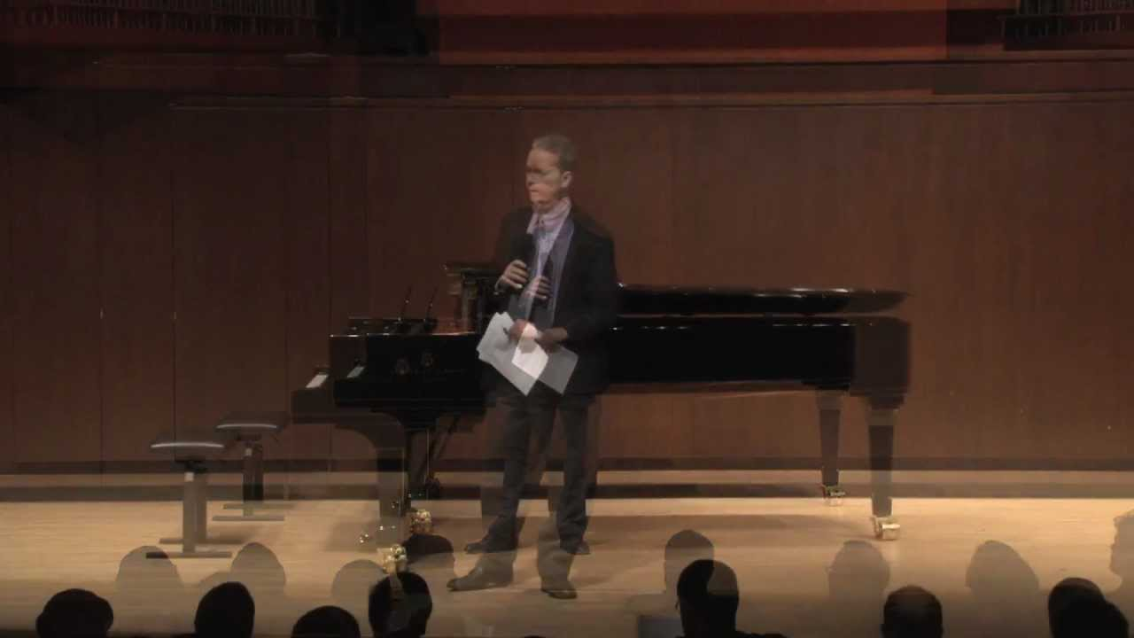 Joyce DiDonato Master Class, January 25, 2013: Introduced by Brian Zeger