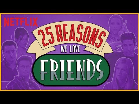 Best of Friends, 25th Anniversary Special | F.R.I.E.N.D.S | Netflix