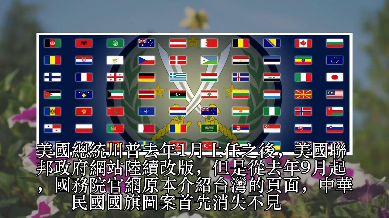 中華民國旗又遭美網站撤除 外交部持續交涉中 - YouTube