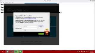how to install  and register 7-data recovery suit for lifetime