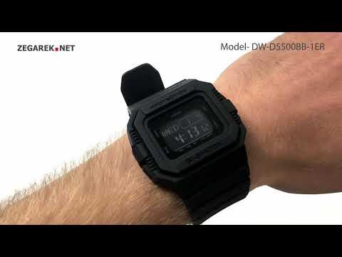 Casio G-Shock DW-D5500BB-1ER - Zegarek.net