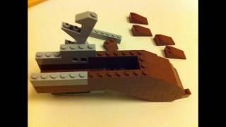 Lego Assassins Creed 3 Flintlock pistol instruction