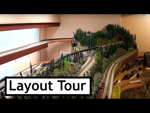Southern Pacific Railroad in the Cascades – Part 12, A Layout Tour