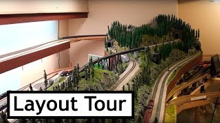 Southern Pacific Railroad in the Cascades - Part 12, A Layout Tour