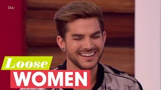adam lambert on replacing freddie mercury loose women