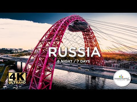 Explore Moscow Spend 7 Days In Russia | Travel Itinerary In 4k
