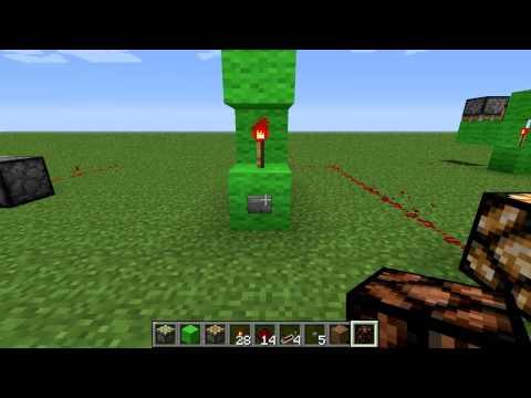Minecraft Zaragoza - A fondo - T-FLIP FLOP Tutorial Redstone