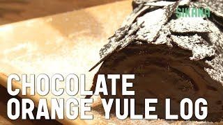 How To Bake A Yule Log - Traditional French Recipe