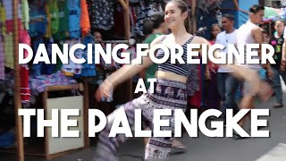Dancing foreigners at the palengke (Vlog 41 - foreigners and jeepneys)